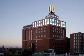 Dortmunder U, moving people ausstellung, aussenansicht museum digitale kunst