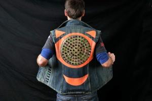 LED jacket Seba back total