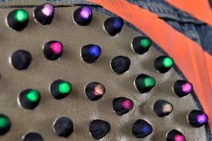 LED jacket Seba back detail