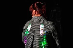 LED Flash dress