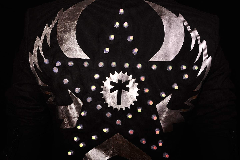 LED Jacket silver star