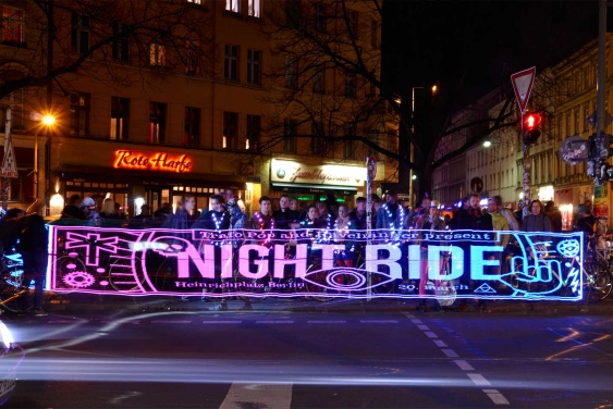 Night Ride Trafo Stick Pixel Painting Teaser