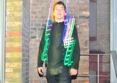 LED Jacket workshop Fab Lab Berlin der puppe