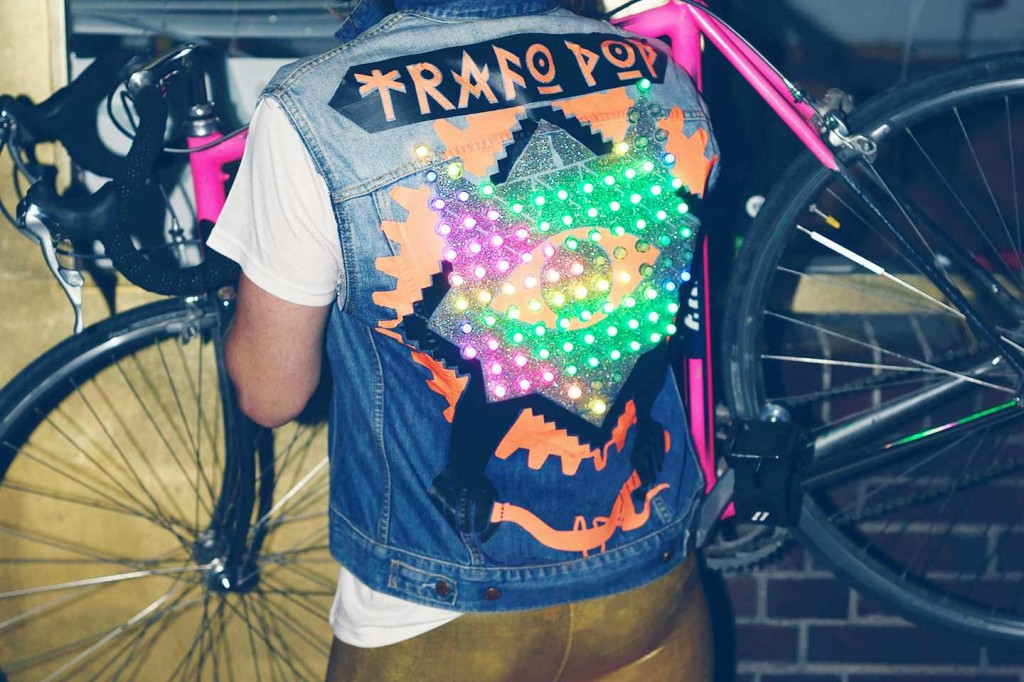 trafo pop workshop wearable electronics and bicycles