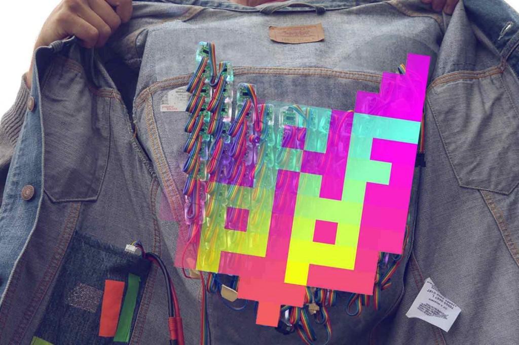 trafo pop jacket arduino and photoshop