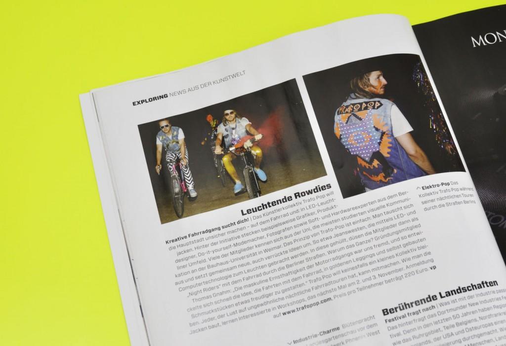 "artinvestor magazine ""we love trash"" news"